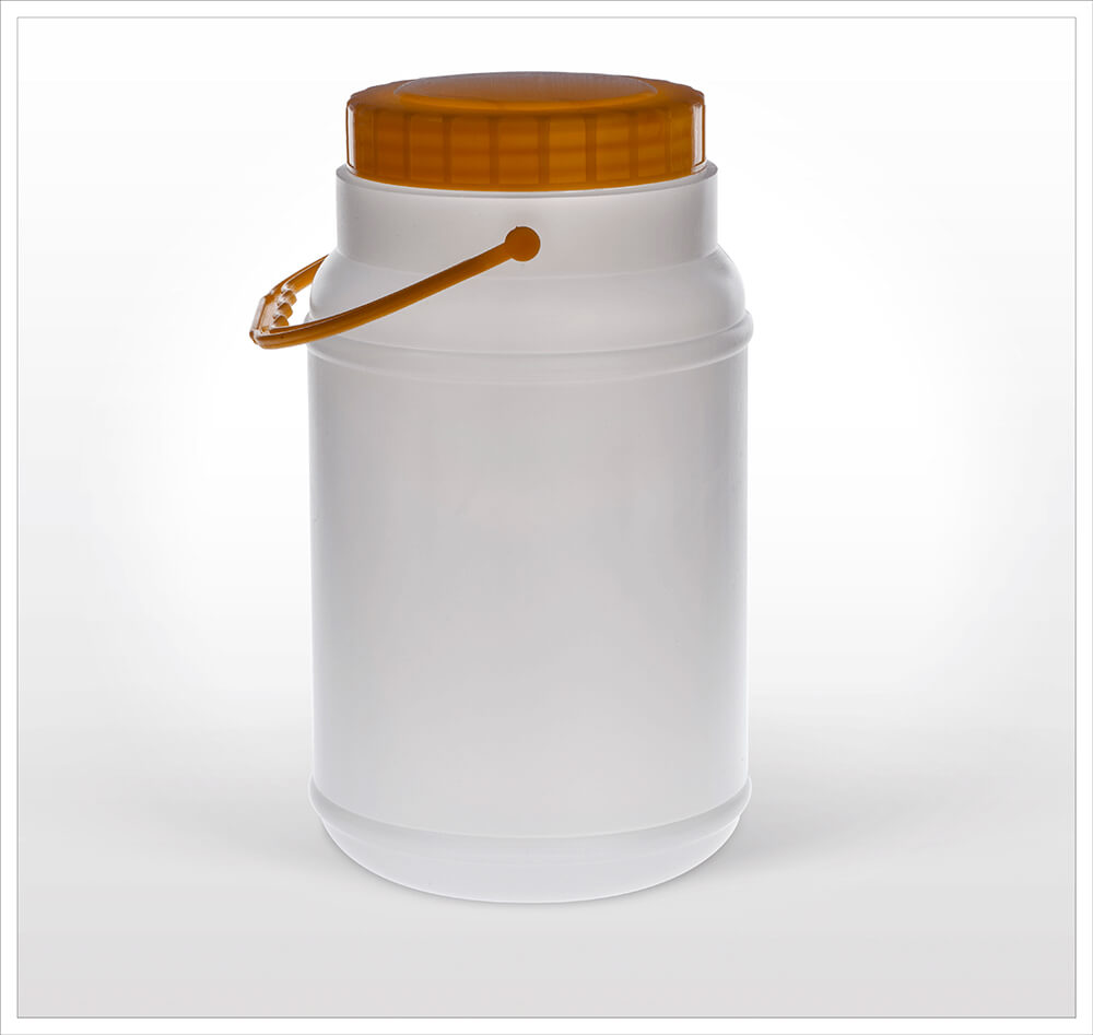 Cylinder Plastic Can 2000
